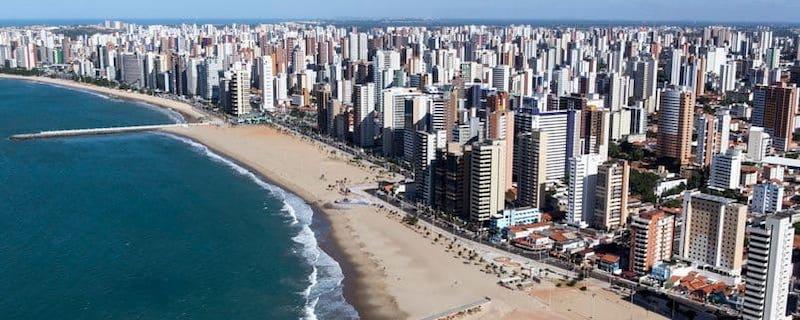 Avenida Beira-Mar emFortaleza