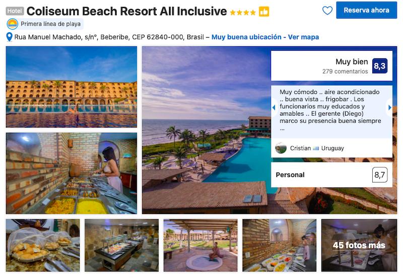 Coliseum Beach Resort All Inclusive