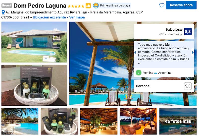 Hotel Dom Pedro Laguna