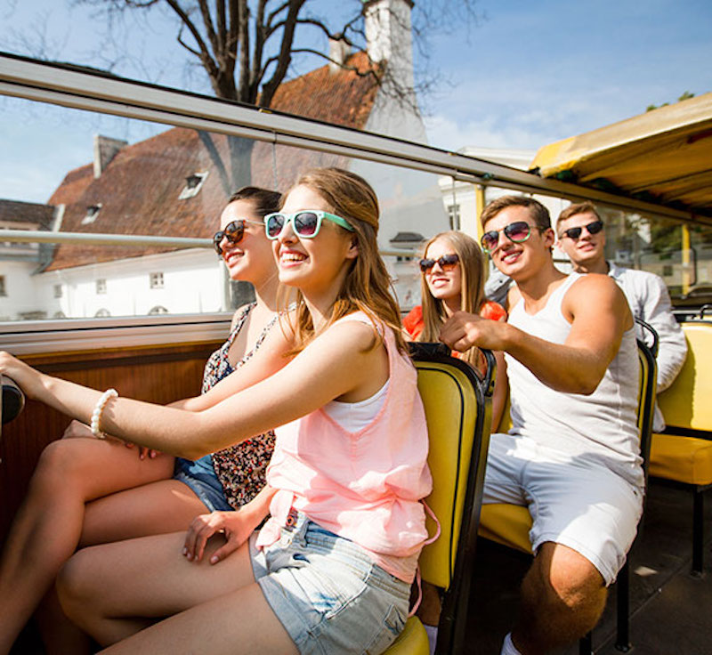 Ônibus turístico em Fortaleza